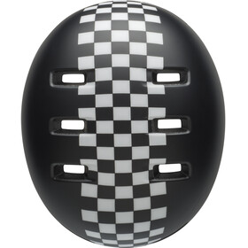 Bell Lil Ripper Helmet Kids matte black/wh check